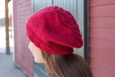 Slouchy hat in #CEY_Yarns #Toboggan. 2 skeins is all it takes to make this cute hat that will be sure to keep your ears nice and toasty all winter long.
