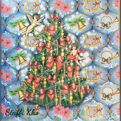 "119 Likes, 1 Comments - Staffi Kho (@staffikho) on Instagram: """"Love and Peace"" Christmas gift wrapping paper ⛄️. Hope you like it ! #kanokoegusa…"""
