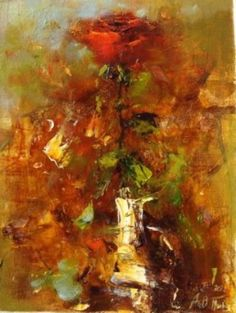 Angelica Privalihin - Red Rose #1