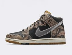 online retailer e9165 030a4  Nike Dunk CMFT PRM QS Crocodile Dunkdee  sneakers Mejores Zapatos Para  Hombres, Nike