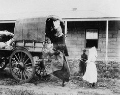 Boervroue tydens die Anglo-Boere oorlog.