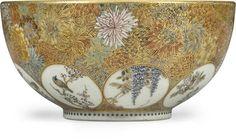 A small Satsuma bowl  by Yabu Meizan, Meiji Period (late 19th century)
