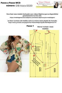 Lingerie Patterns, Dress Sewing Patterns, Blouse Patterns, Clothing Patterns, Blouse Designs, Fashion Sewing, Denim Fashion, Costura Fashion, Estilo Jeans