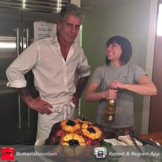 What Anthony Bourdain Learned From President Obama  And what the man who's been literally everywhere makes when he's at home.