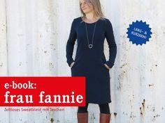 Schnittmuster Frau Fannie von schnittreif als e-book für Damen in Kategorie Kleid 0 – 0 / 34 – 50