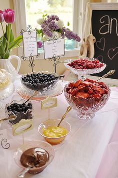 Crepe Bar.. great idea for a wedding brunch or bridal shower