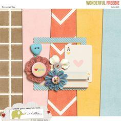 (freebie) Wonderful Mini Kit @ Edeline Marta