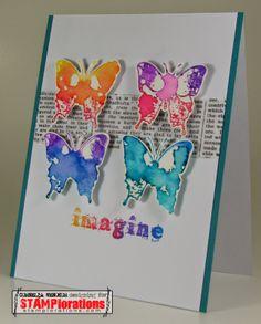 Card by Cornelia using VIGNETTE: Artful Flutters