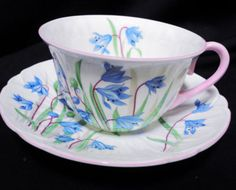 SHELLEY-blue-scilla-OLEANDER-TEA-CUP-AND-SAUCER