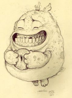 chris ryniak. Art. This is what I look like when I get a doughnut lol #chrisryniak