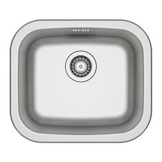 450w 390d FYNDIG Single-bowl inset sink IKEA Sink in stainless steel, a hygienic, strong and durable material that's easy to keep clean.