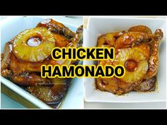 Pineapple Slices, Pineapple Chicken, Filipino Recipes, Filipino Food, Pinoy Food, Stuffed Whole Chicken, Saute Onions, Recipe Notes, Easy Chicken Recipes
