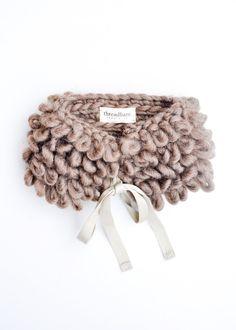 Brushed Wool Neck Warmer