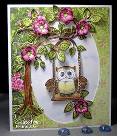 Floral Cuteness (FG) by Francie G. - Cards and Paper Crafts at Splitcoaststampers