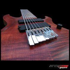 Crimson Guitars 8-string... interesting bridge