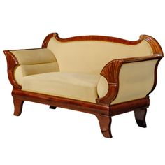 Mahogany Biedermeier Sofa | From a unique collection of antique and modern sofas at http://www.1stdibs.com/furniture/seating/sofas/