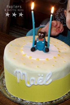 DIY tuto Gâteau d'anniversaire Petit Ours Brun