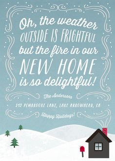 Digital Download: We've Moved Custom Christmas Card ~ Photo ...