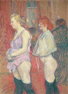 Rue des Moulins, 1894-Lautrec; At NGA