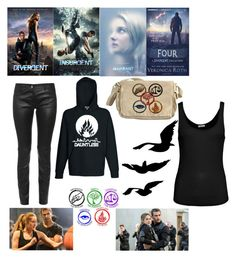 """""""Divergent series outfit"""" by kitkat-1414 ❤ liked on Polyvore featuring American Vintage and Balenciaga"""