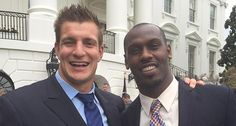 New England patriots visit the White House!