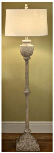 Crestview Collection CVAUP523 Avalon Carved Wood Table Lamp, As Shown