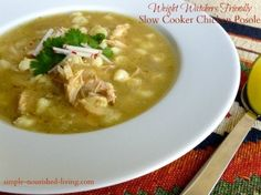 Easy+Slow+Cooker+Chicken+Posole+Soup