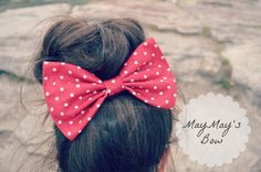 Hey, I found this really awesome Etsy listing at http://www.etsy.com/listing/150311636/red-polka-dot-hair-bow
