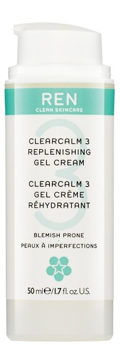 ClearCalm 3 Replenishing Gel Cream #moisturizer #crueltyfree #own