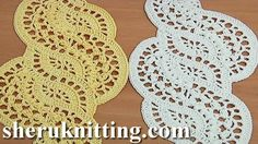 CROCHET LACE TAPE PATTERN 28 We invite you to visit https://www.sheruknitting.com/ There are over 800 video tutorials of crochet and knitting in different techniques. Also, you can see unique authors' design in these tutorials only on a website at https://www.sheruknitting.com/  Enjoy all you get from a membership:1.No advertising on all tutorials 2.Valuable in different devices 3.Step by step and detailed video tutorials 4.New courses added every week