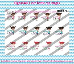 """1"""" Bottle Caps (4X6) F34 birthday girl  BIRTHDAY BOTTLE CAP IMAGES #birthday #presents #party #bottlecap #BCI #shrinkydinkimages #bowcenters #hairbows #bowmaking #ironon #printables #printyourself #digitaltransfer #doityourself #transfer #ribbongraphics #ribbon #shirtprint #tshirt #digitalart #diy #digital #graphicdesign #bottlecap #BCI #shrinkydinkimages #bowcenters #hairbows #bowmaking please purchase via link  http://craftinheavenboutique.com/index.php?main_page=index&cPath=323_533_42_52"""