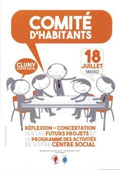 Réunion du comité d'habitants le 18 juillet 2017 à Cluny : http://clun.yt/2tvv9jd