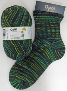Sock yarn dyed in rainforest colours exciting Opal 4ply yarn 1 ball 100 g with 425 m lengths start knitting socks for the man in your life by PurpleValleyDesign on Etsy