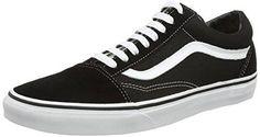 Vans Unisex Old Skool Black/White Skate Shoe 6.5 Men US / 8 Women US