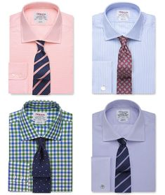 How To Pair Your Shirt And Tie: Men's Pattern Shirt and Pattern Tie Combinations