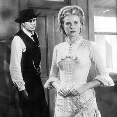 Marshal Will Kane (Gary Cooper) and Amy Kane (Grace Kelly) - High Noon (1952)
