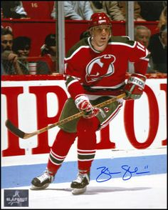 Brendan Shanahan New Jersey Devils Photo!  www.slapshotsignatures.com