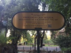 orologio ad acqua_Roma 2015