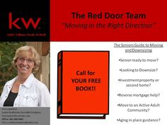 The Seniors Guide to Moving and Downsizing Call for your FREE BOOK! Re-pinned by www.sodacitymovers.com