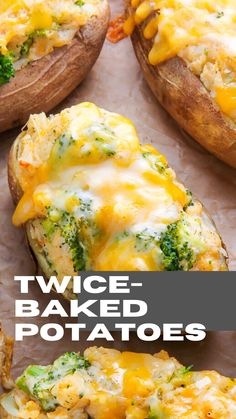 Broccoli and Cheddar Twice-Baked Potatoes Cube Steak Recipes, Cooked Chicken Recipes, Beef Recipes For Dinner, Vegetarian Recipes Easy, Healthy Recipes, Easy Recipes, Easy Chicken Fettuccine Alfredo, Fetuchini Alfredo, Homemade Chicken Alfredo