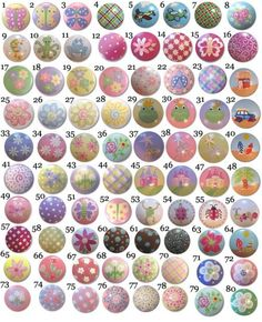 Childrens+Hand+Painted+Drawer+Knobs+Nursery+by+DoodlesDecor,+$6.00