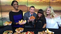 Grilled Cheese day in Vegas Wake up the the CW Food Truck Show, National Grilled Cheese Day, Today Is National, The Cw, Vegas, Grilling, Trucks, Crickets, Truck