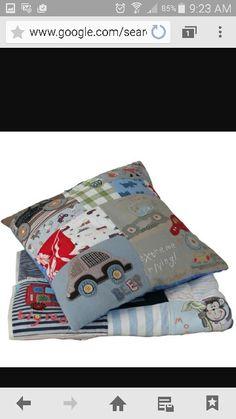 Keepsake clothes pillow