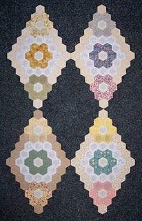 Hexagon Flower quilt