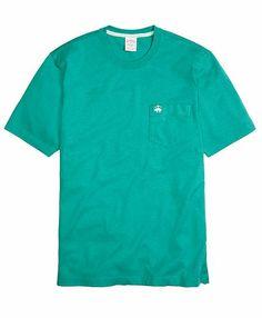 Golden Fleece® Heathered Tee Shirt - Brooks Brothers $36