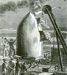 Jules Verne Moon Projectile