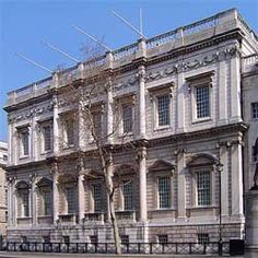 The Banqueting House, Whitehall is the only surviving remnant of Whitehall Palace and was the scene of Charles I's beheading in 1649. The first time a King was put on trial and executed