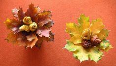 růžičky z javorových listů