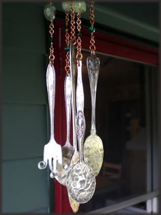 spoon/fork wind chime