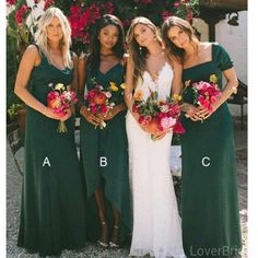 Buy New Style Sheath Sweetheart Chiffon Dark Green Bridesmaid Dresses, Wedding Party Dress online. Rock one of the season's hottest looks in a burgundy homecoming dress or choose a timeless classic little black dress. Cheap Bridesmaid Dresses Online, Elegant Bridesmaid Dresses, Wedding Party Dresses, Forrest Green Bridesmaid Dresses, Bridesmaid Gowns, Mexican Bridesmaid Dresses, Emerald Green Bridesmaid Dresses, Green Bridesmaids, Bridesmaid Color